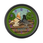 West of England Tumblers Large Wall Clock