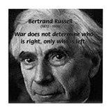 Bertrand Russell Tile Coaster