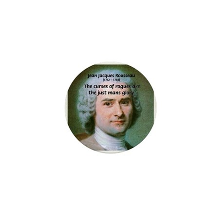 French Philosopher Rousseau Mini Button (100 pack)