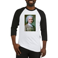 Philosopher Rousseau Baseball Jersey