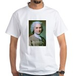 Philosopher Rousseau White T-Shirt