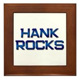 hank rocks Framed Tile