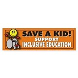 Save a Kid Bumper Stickers