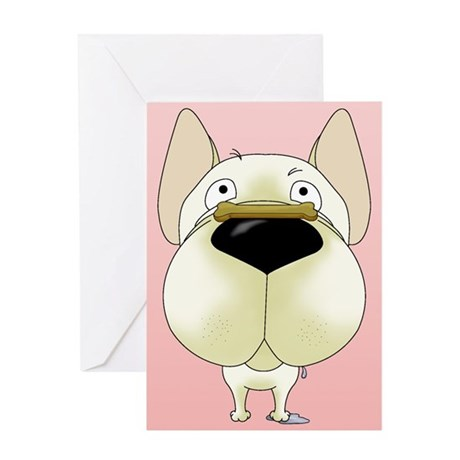 Frenchie Valentine's Day Greeting Card