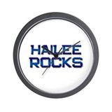 hailee rocks Wall Clock