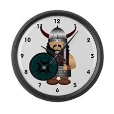 Viking Large Wall Clock