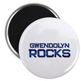 "gwendolyn rocks 2.25"" Magnet (10 pack)"