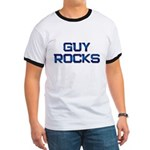 guy rocks Ringer T