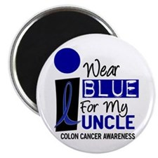 I Wear Blue For My Uncle 9 CC Magnet