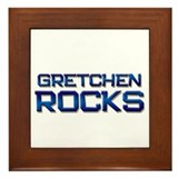 gretchen rocks Framed Tile