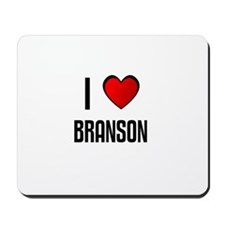 I LOVE BRANSON Mousepad