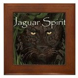 Jaguar Spirit Framed Tile