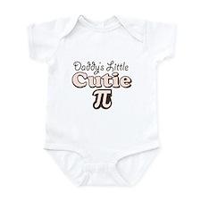 Daddy's Little Cutie Pi Infant Bodysuit