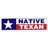 Native Texan Bumper Sticker (50 pk)