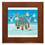 Angels We Have 'Herd' On High Framed Tile