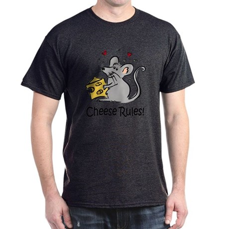 Cheese Rules Dark T-Shirt