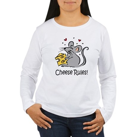 Cheese Rules Women's Long Sleeve T-Shirt