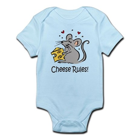 Cheese Rules Infant Bodysuit