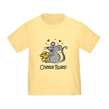 Cheese Rules Toddler T-Shirt