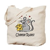 Cheese Rules Tote Bag