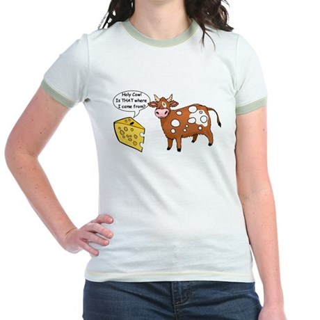 Holy Cow Jr. Ringer T-Shirt