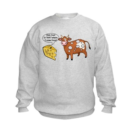 Holy Cow Kids Sweatshirt