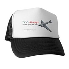 DC-3 Airways Black Hat