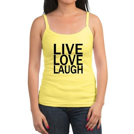 Live Love Laugh Jr. Spaghetti Tank