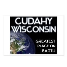 cudahy wisconsin - greatest place on earth Postcar