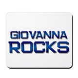 giovanna rocks Mousepad