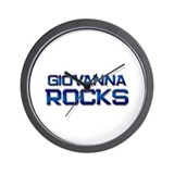 giovanna rocks Wall Clock