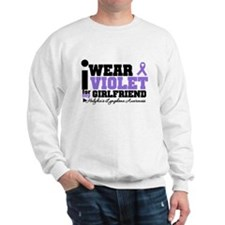 I Wear Violet For Girlfriend Sweatshirt