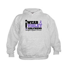 I Wear Violet For Girlfriend Hoodie