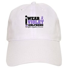 I Wear Violet For Girlfriend Baseball Cap