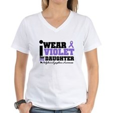 I Wear Violet For Daughter Shirt