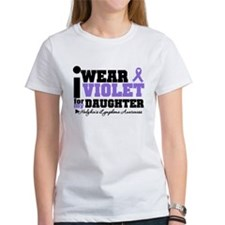I Wear Violet For Daughter Tee