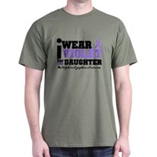 I Wear Violet For Daughter T-Shirt