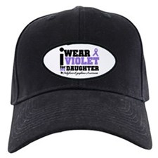 I Wear Violet For Daughter Baseball Hat