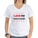 I Love My Town Planner Shirt