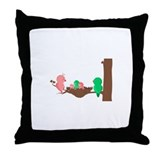 How Tweet Throw Pillow