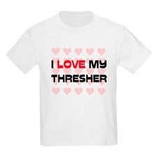 I Love My Thresher T-Shirt