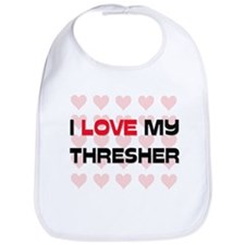 I Love My Thresher Bib