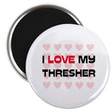 I Love My Thresher Magnet