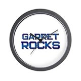 garret rocks Wall Clock