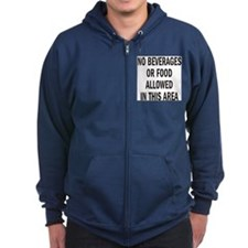 The Dieter's Zipped Hooded Sweatshirt...