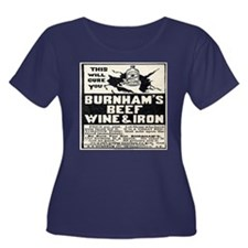 Women's Plus Size Burnham's Quackery T-Shirt