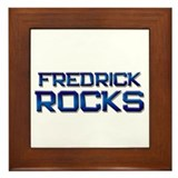 fredrick rocks Framed Tile