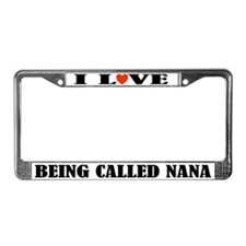 Fun Nana License Plate Frame
