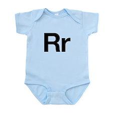 Helvetica Rr Infant Bodysuit