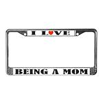 Fun Mom License Plate Frame